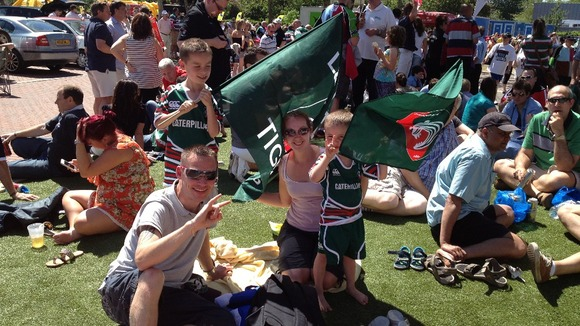 Leicester Tigers family
