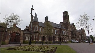Exterior of St Helens town hall