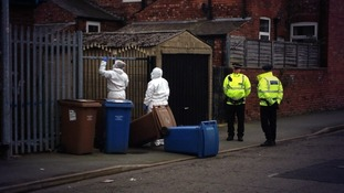 Forensics in Holt Street, Salford