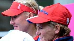 Elena Baltacha (left) is fighting cancer.