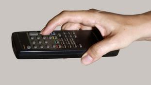 A TV remote control