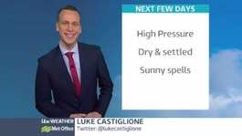 Weekend weather: Dry, sunny and feeling warm