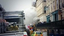 Fire at Moles nightclub in Bath