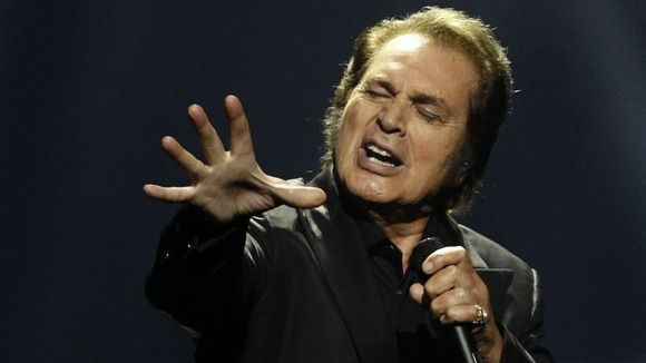 Veteran crooner Engelbert Humperdinck opened the show in Baku, Azerbaijan.