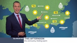 Sunday's weather: Another warm and sunny day