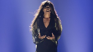 Swedish Loreen performs during the final show of the 2012 Eurovision Song Contest at the Baku Crystal Hall in Baku.