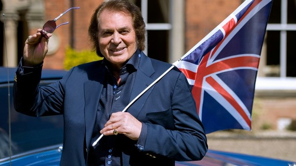 Engelbert Humperdinck performed at this year&#x27;s Eurovision Song Contest.