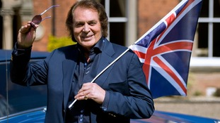 Engelbert Humperdinck performed at this year's Eurovision Song Contest.