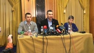 Vitali Klitschko visits Donetsk in bid to ease Ukraine divisions