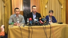 Klitschko visits Donetsk in bid to ease divisions in Ukraine