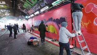 More images by the Graffiti artists