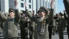 North Koreans 'celebrate' amid 1st elections since 2009
