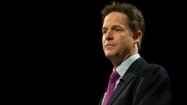 Nick Clegg aims fire at Ukip in conference address