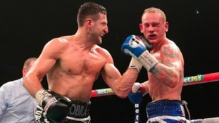 Carl Froch punches George Groves