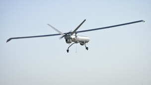 A file photo of a drone - not necessarily the one used in the alleged smuggle attempt