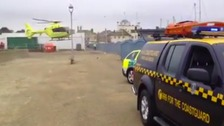 Man dies as boat capsizes off Suffolk coast