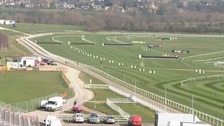 Crowds flock to Cheltenham Festival 2014