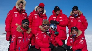 Prince Harry was 'terrified' by South Pole charity trek