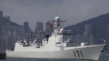 'Largest ever' Chinese rescue fleet to join missing jet search