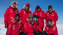 Prince Harry 'terrified' by charity South Pole trek