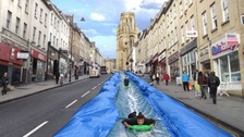 Plans to transform Park St into giant water slide