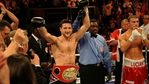 Carl Froch winning world championship