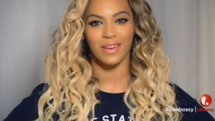 Beyonce is among the famous faces heading the Ban Bossy campaign.
