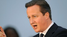 Cameron calls for peace ahead of first Israel visit