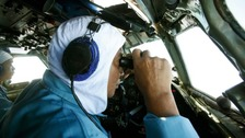 India asked to help as search for missing plane is widened