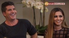 Simon Cowell and Cheryl Cole on their X Factor reunion