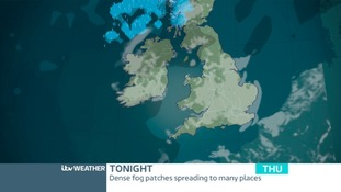 Fog will reform overnight tonight