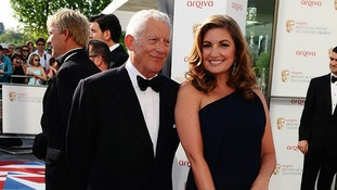 Nick Hewer and Karren Brady. The Young Apprentice is up for an award tonight