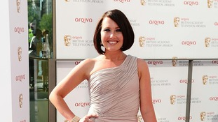 Rebecca Atkinson arriving for the British Academy Television Awards 2012