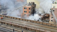 Two killed in New York after blast destroys building