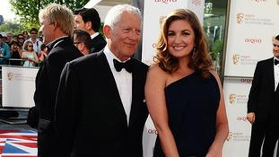 Nick Hewer and Karren Brady