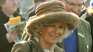 Camilla, the Duchess of Cornwall, opted for a more toned down option.