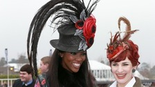Hats off to them: Ladies' Day at the Cheltenham Festival