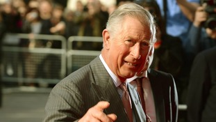 Prince Charles pictured at the Prince's Trust Awards today.