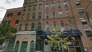 Google Street View image of the buildings in East Harlem