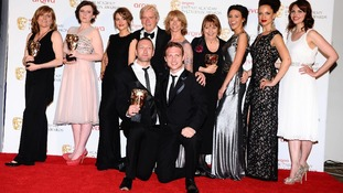 Congratulations to Coronation Street for their Bafta for Best Soap and continuing drama.