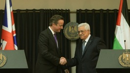 Cameron tells Abbas Middle East peace is 'certainly possible'