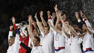 England lift Soccer Aid trophy