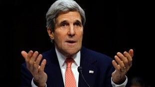 John Kerry speaks during a hearing held by the Subcommittee on State, Foreign Operations, and Related Programmes.