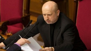 File photo of Ukraine's acting president Oleksander Turchinov.