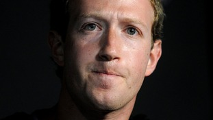 Facebook co-founder Mark Zuckerberg.