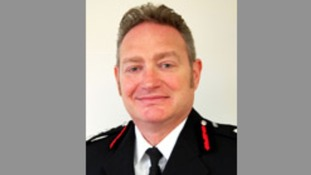 Chief fire officer Sean Frayne