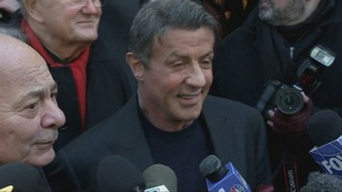 Sylvester Stallone co-wrote the book that spawned the successful Rocky series of films