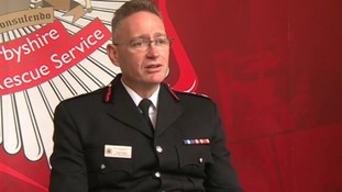 Derbyshire chief fire officer Sean Frayne has been suspended amid allegations of rape