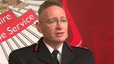 Derbyshire fire chief suspended after being charged with rape