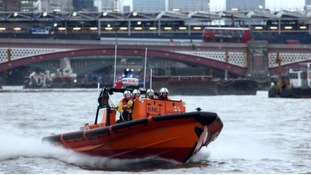 Lifeboat on Thames
